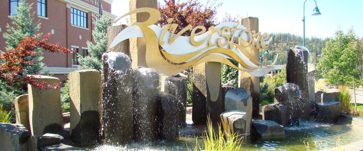 riverstone fountain