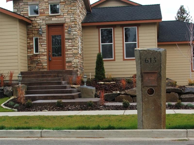 Basalt mailbox