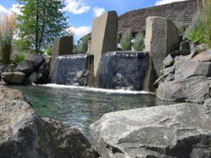 Basalt waterfalls