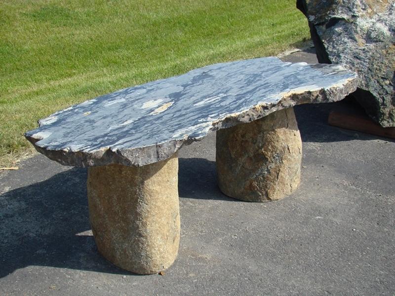 Black dragon bench