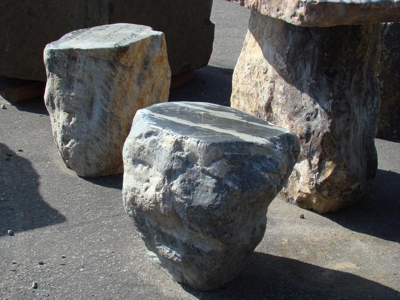 Black dragon stools