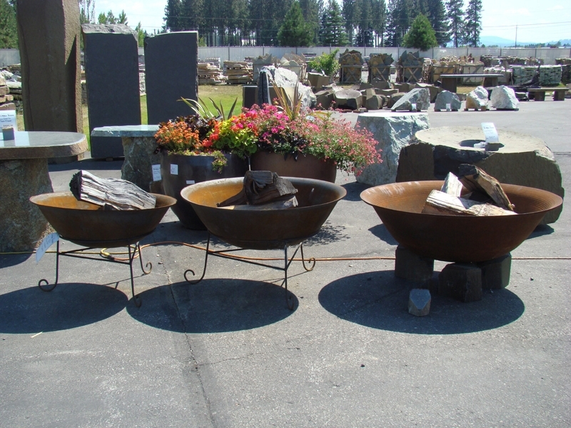 Cast steel fire pits- 3 sizes