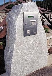 Granite keypad entry