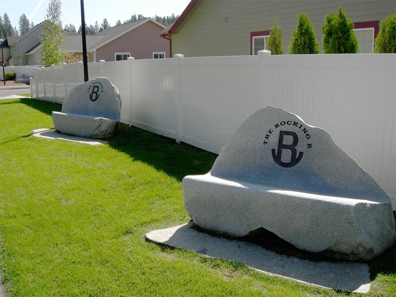 Granite lounge chairs