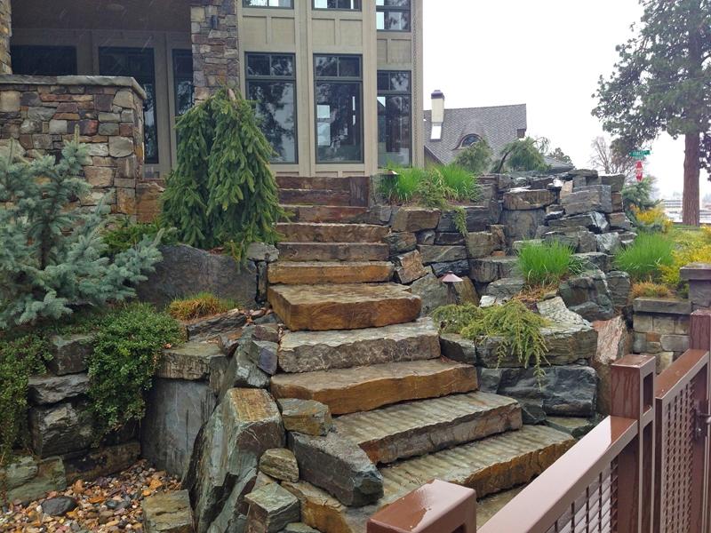 Ibex stairs