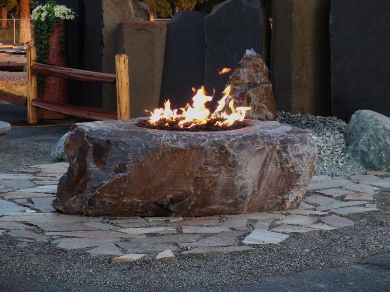 Tundra Fire Rock