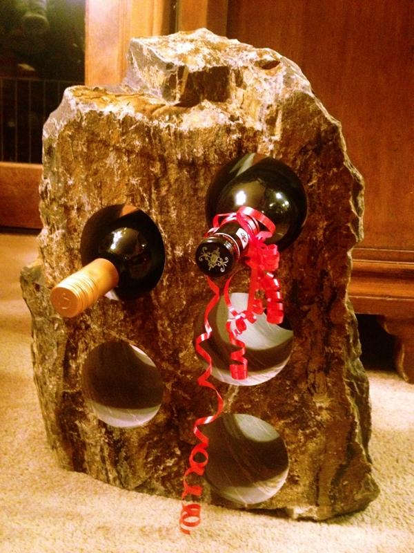 Tundra wine rack