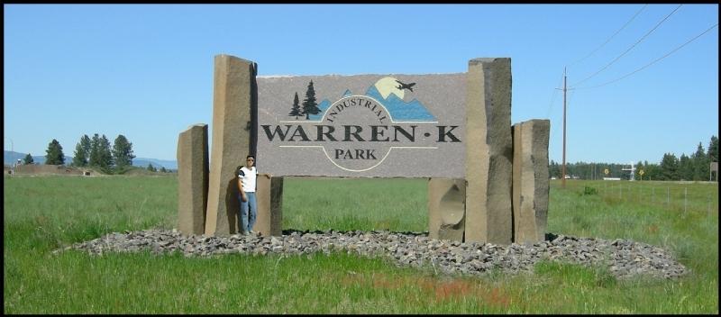 Warren K Park sign