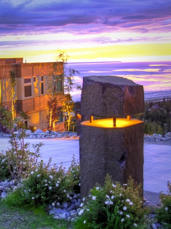 Basalt j light dusk shot