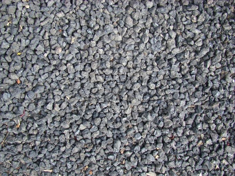 3/4 inch black lava