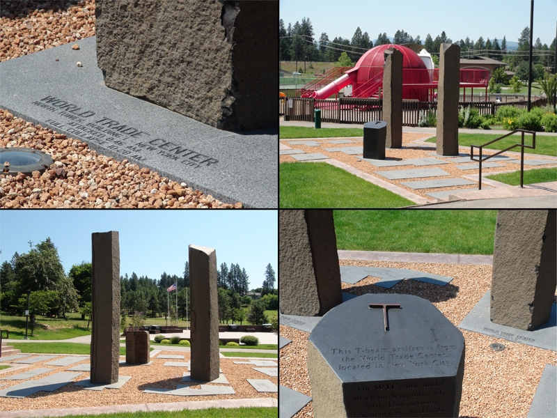 911 Memorial at Cherry Hill Park -  Coeur dAlene, Idaho