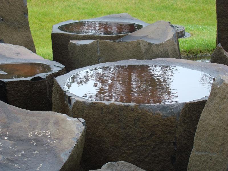 Basalt bowls