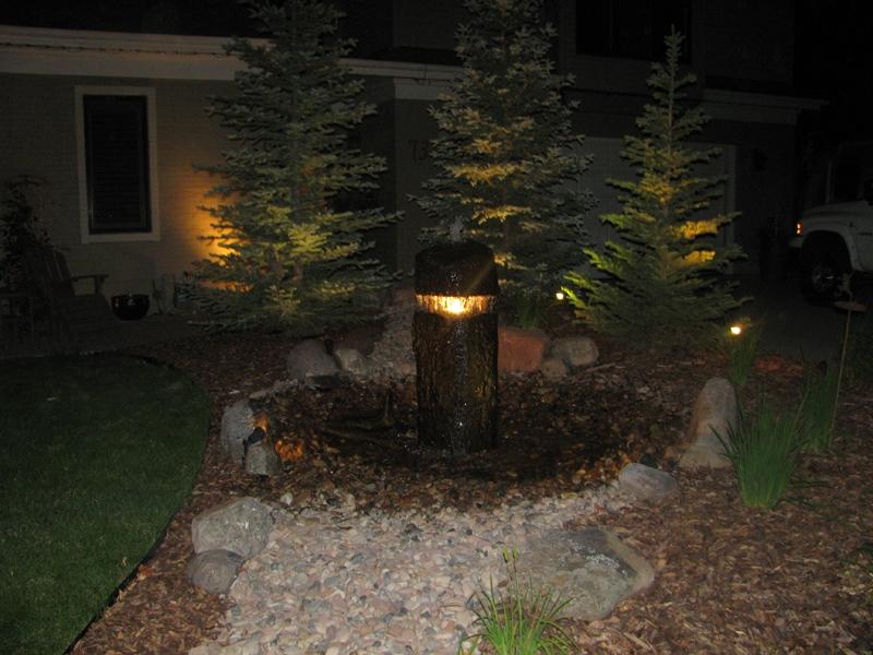Basalt J Light Fountain