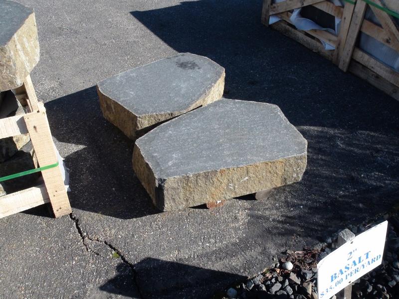 Basalt loaf cut stairs