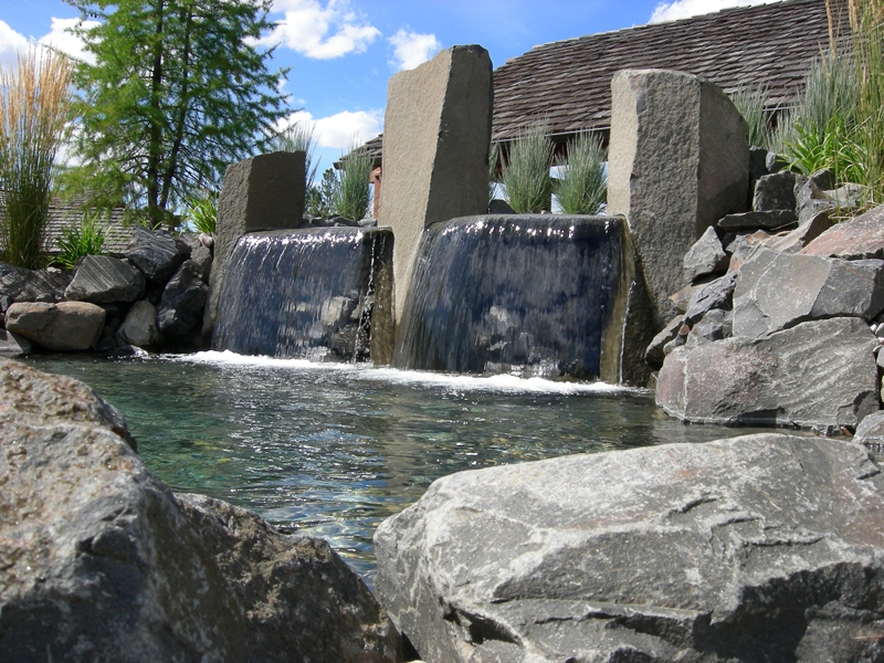 Basalt waterfalls