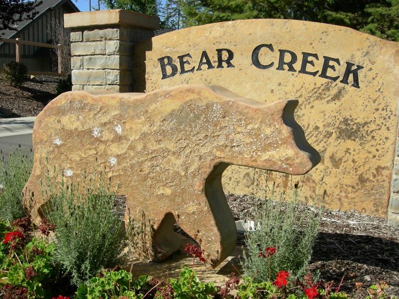 Bear Creek Sign