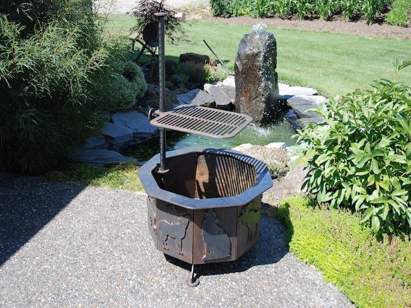 Heavy duty - Steel Fire Pit