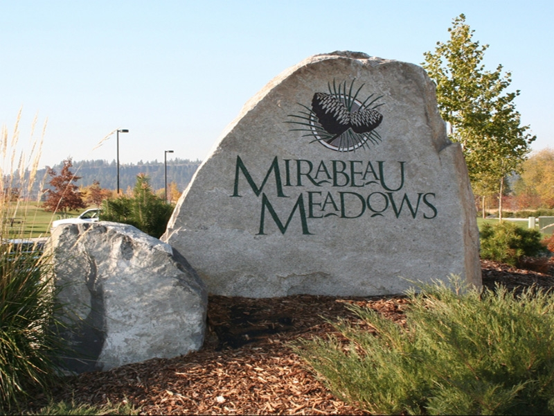 Mirabeau Meadows sign