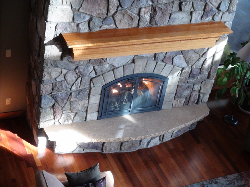 Mountain gold hearth