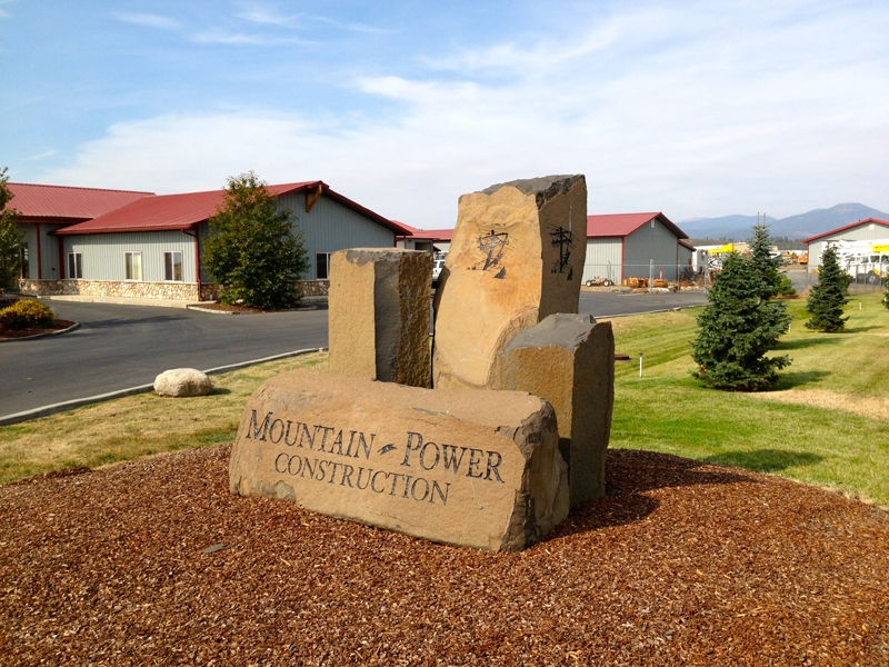 Mountain Power Sign