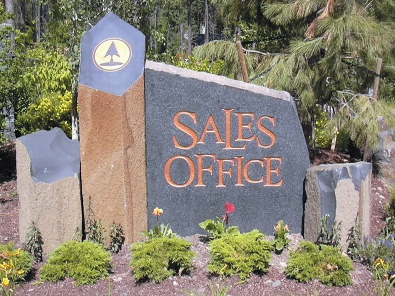 Sales office sign