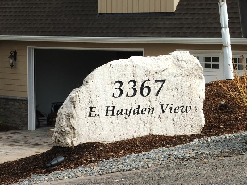 Stone Address Rock