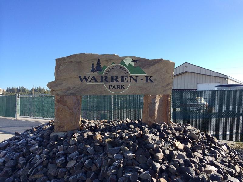 Warren-K Sign