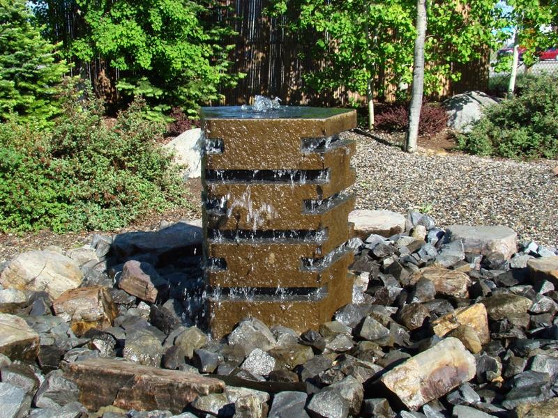 Zen Basalt Fountain