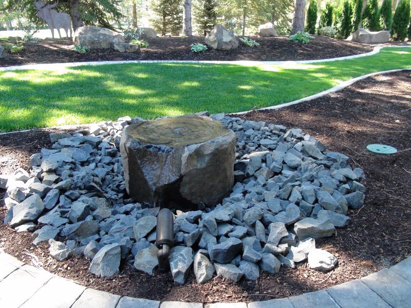 Basalt Bowl Fountain